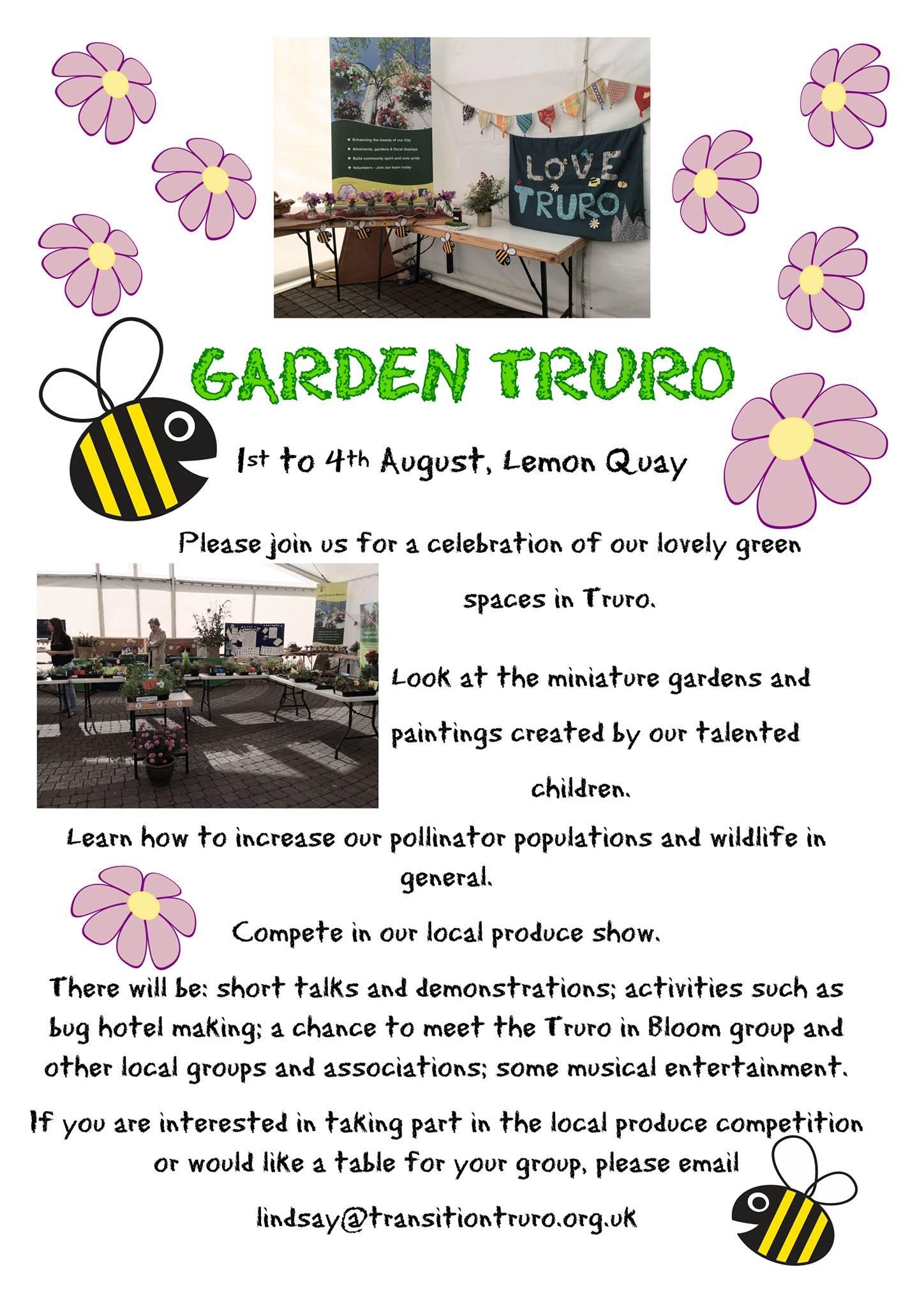 Garden Truro Poster