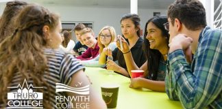 Truro and Penwith College plastic reduction